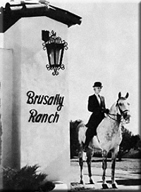 Brusally Ranch Entrance