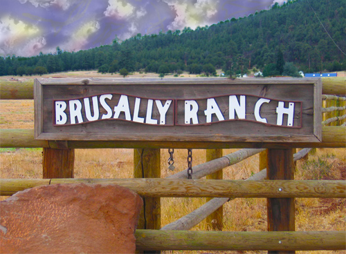 Brusally Ranch Sign